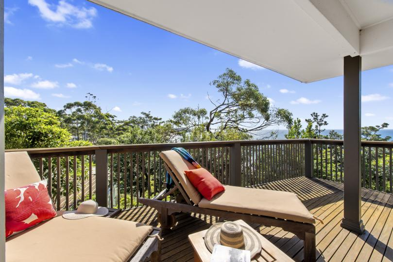 Relax or wale watch from the Verandah