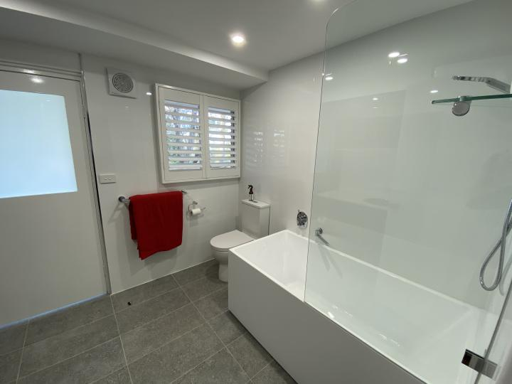 Downstairs 3rd bathroom/laundry