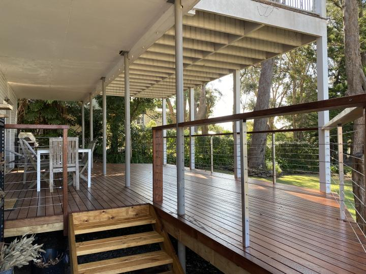 Entertain in style on this beautiful deck